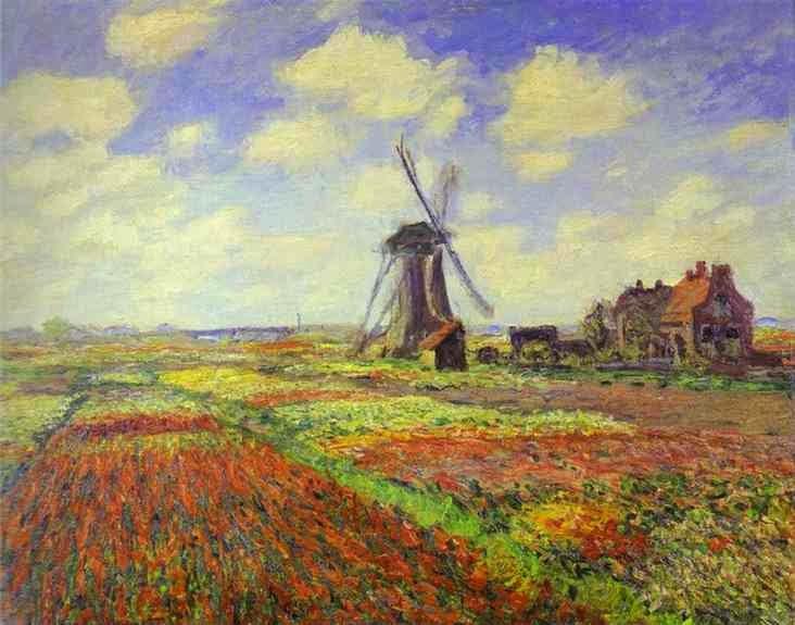 Parece cena de filme, mas é Monet