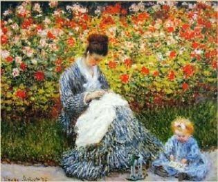 Monet era genial, retratou uma cena inesquecível