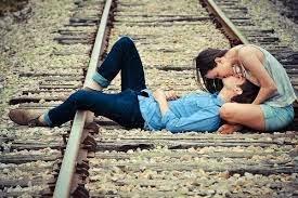 Nos trilhos do trem do amor